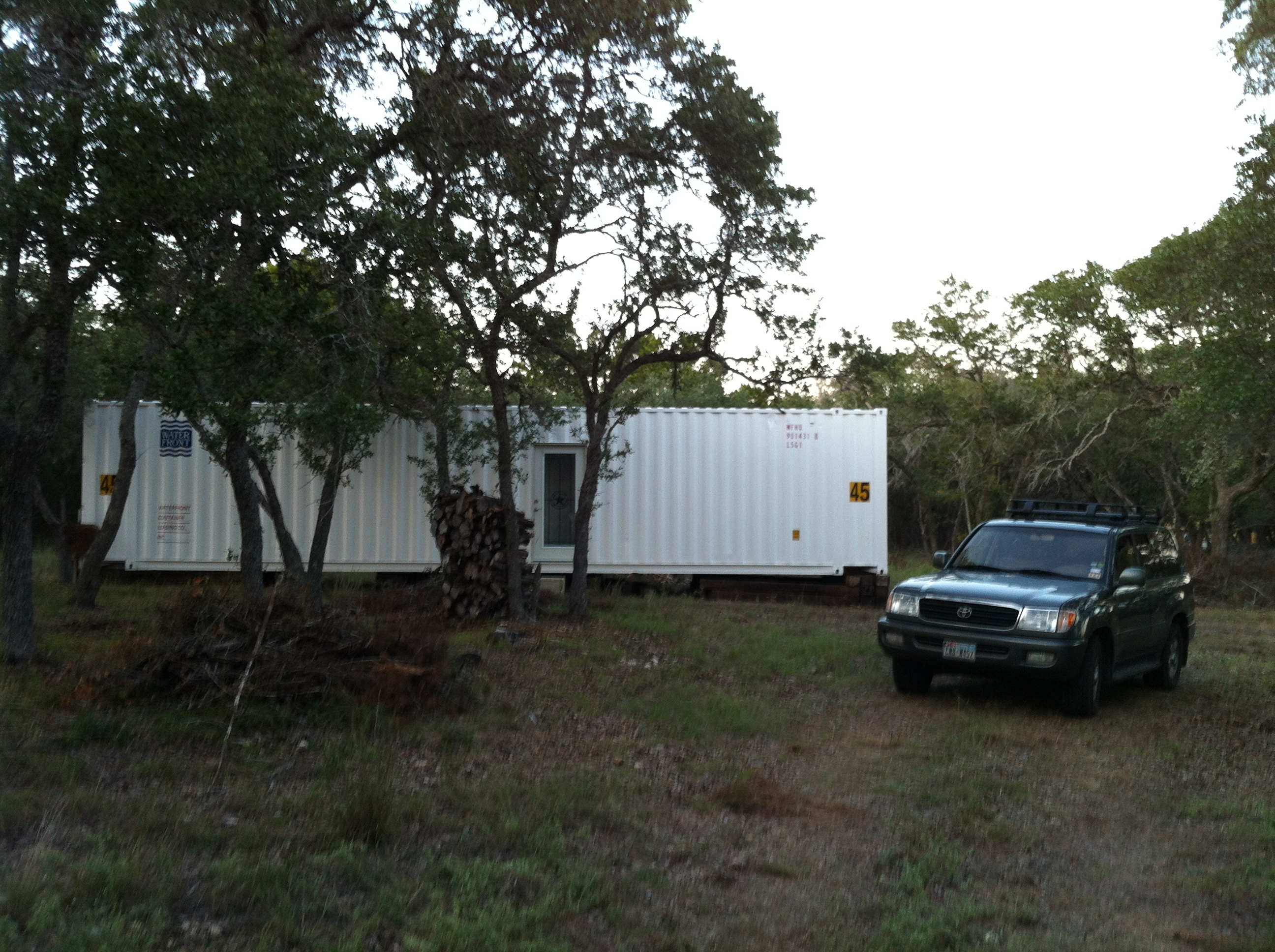 Home sweet home conex shack - Ecopod container home ...